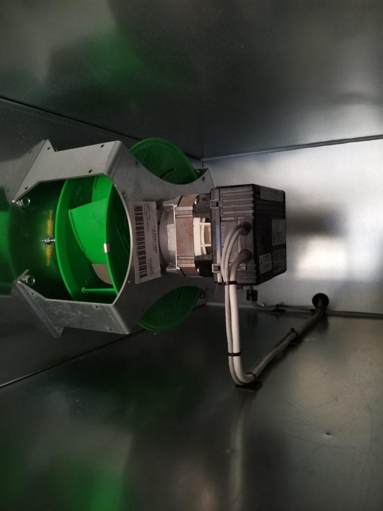 Podłączenie silnika EC w centrali wentylacyjnej. Automatyka HVAC
