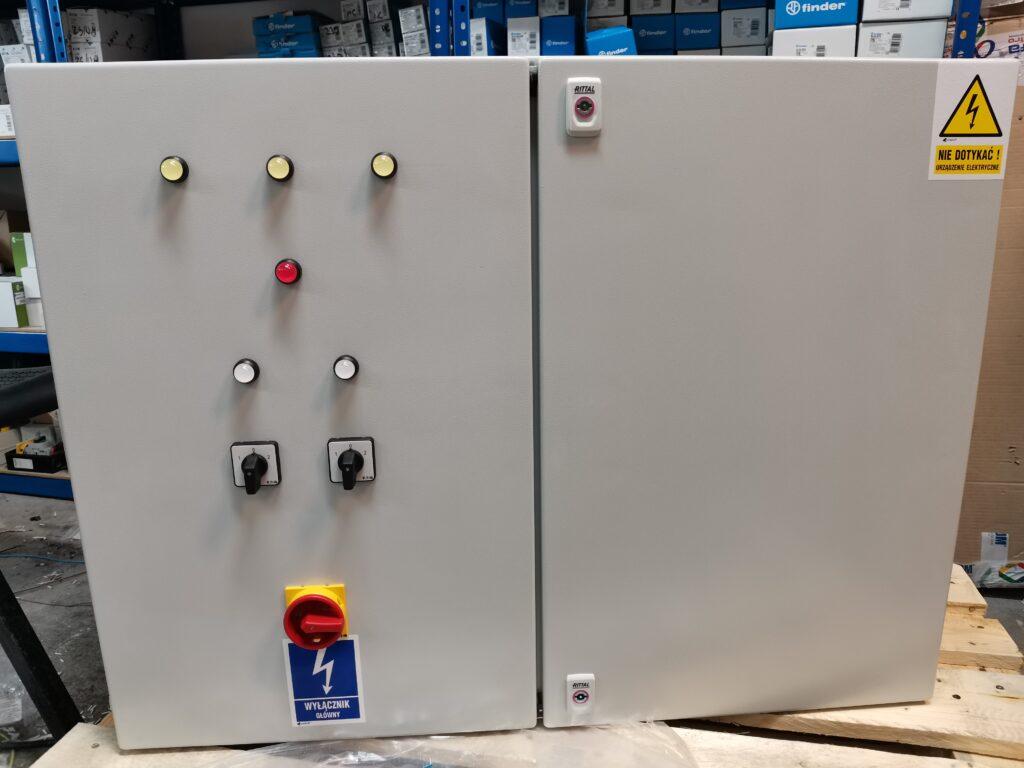 Prefabrykacja rozdzielnic sterujących