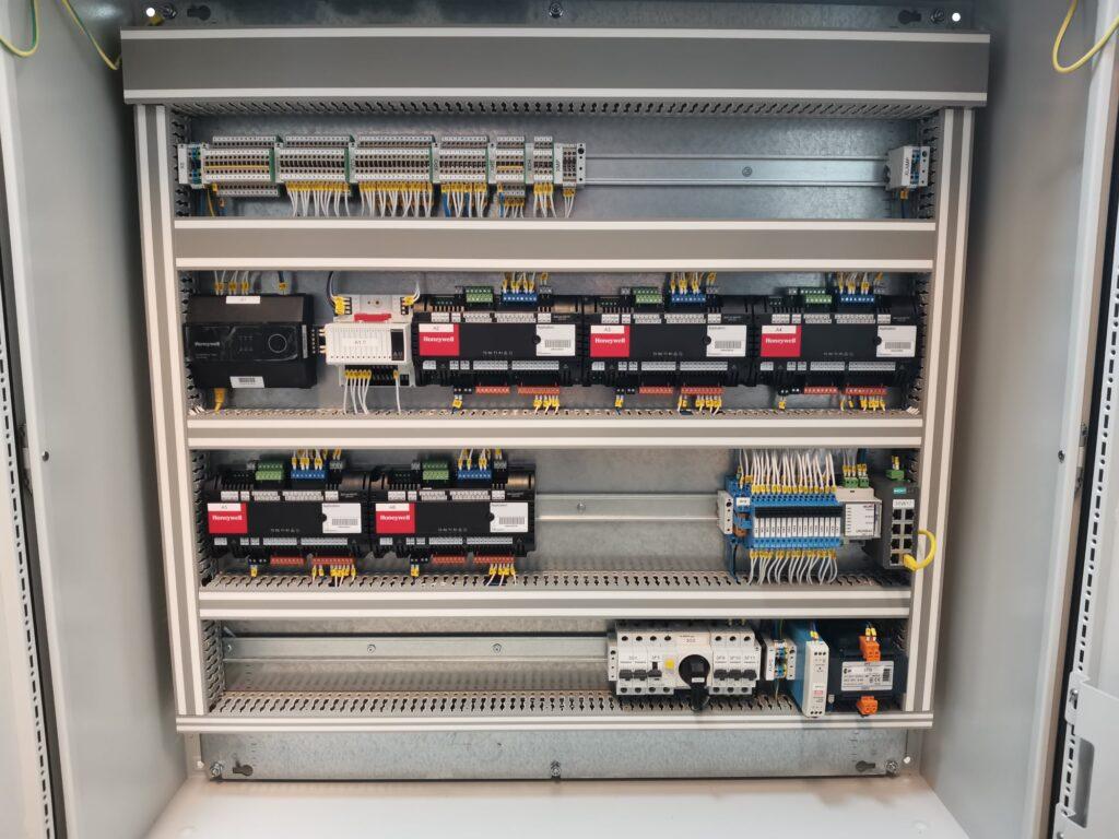 Sterowanie oświetlenia, automatyka BMS