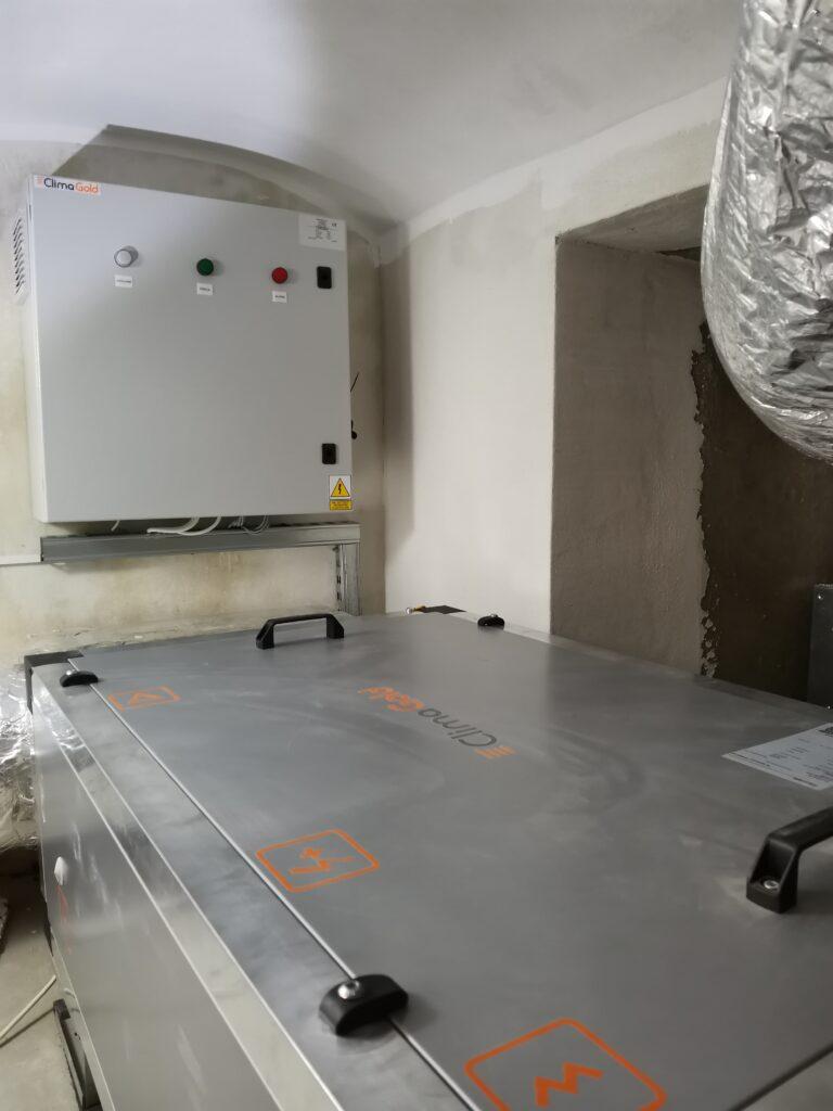 Centrale wentylacyjne CLIMA GOLD Automatyka HVAC